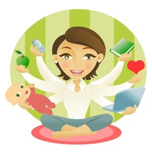 Vida louca: As verdades de uma mãe multi-tarefas!